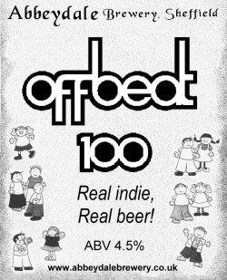 Offbeat 100 ale pumpclip